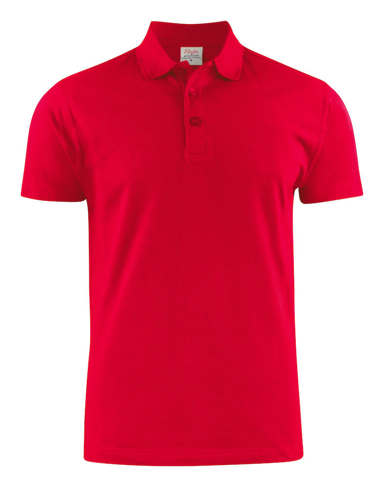polo brodé Surf RSX - rouge