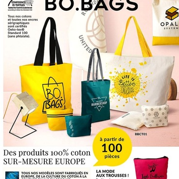 Collection de sacs 100% Made in Europe