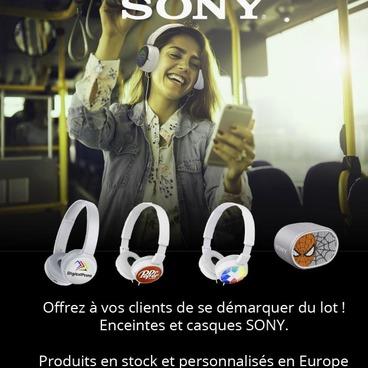 Les casques audios SONY pour vos meilleurs clients