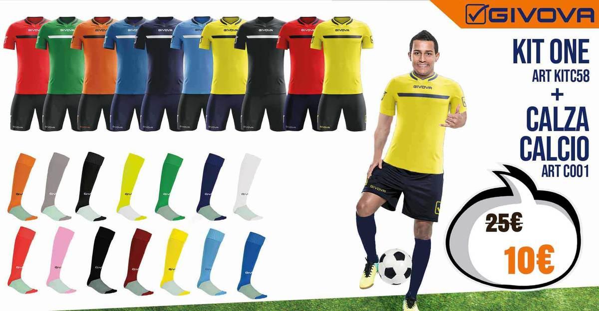 Destockage tenue de foot Givova One