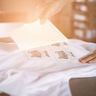 Personnalisation de textile
