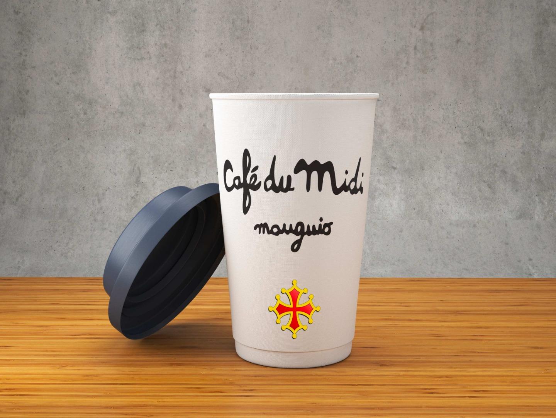 cup cafe du midi mauguio