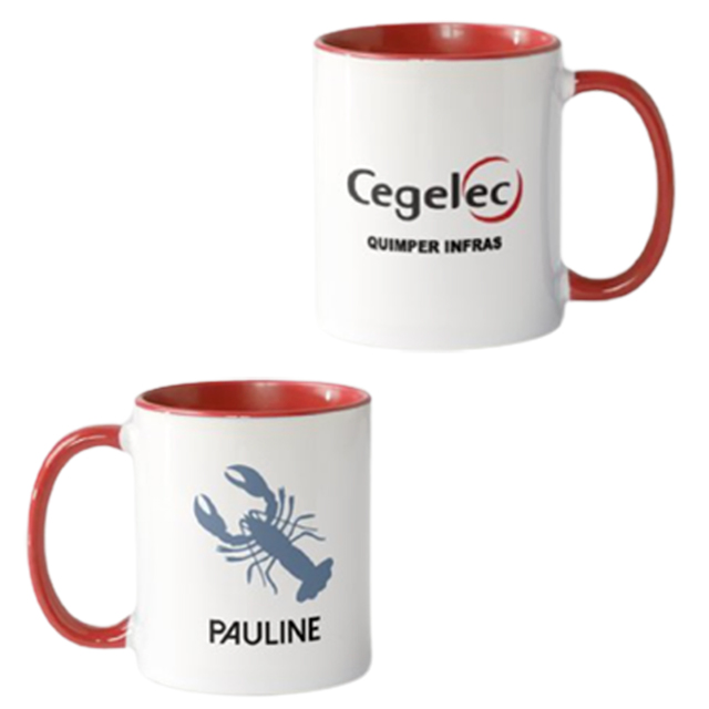 mug personnalisé à l'unité