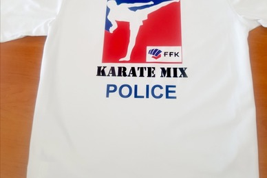 Tee shirt arts martiaux