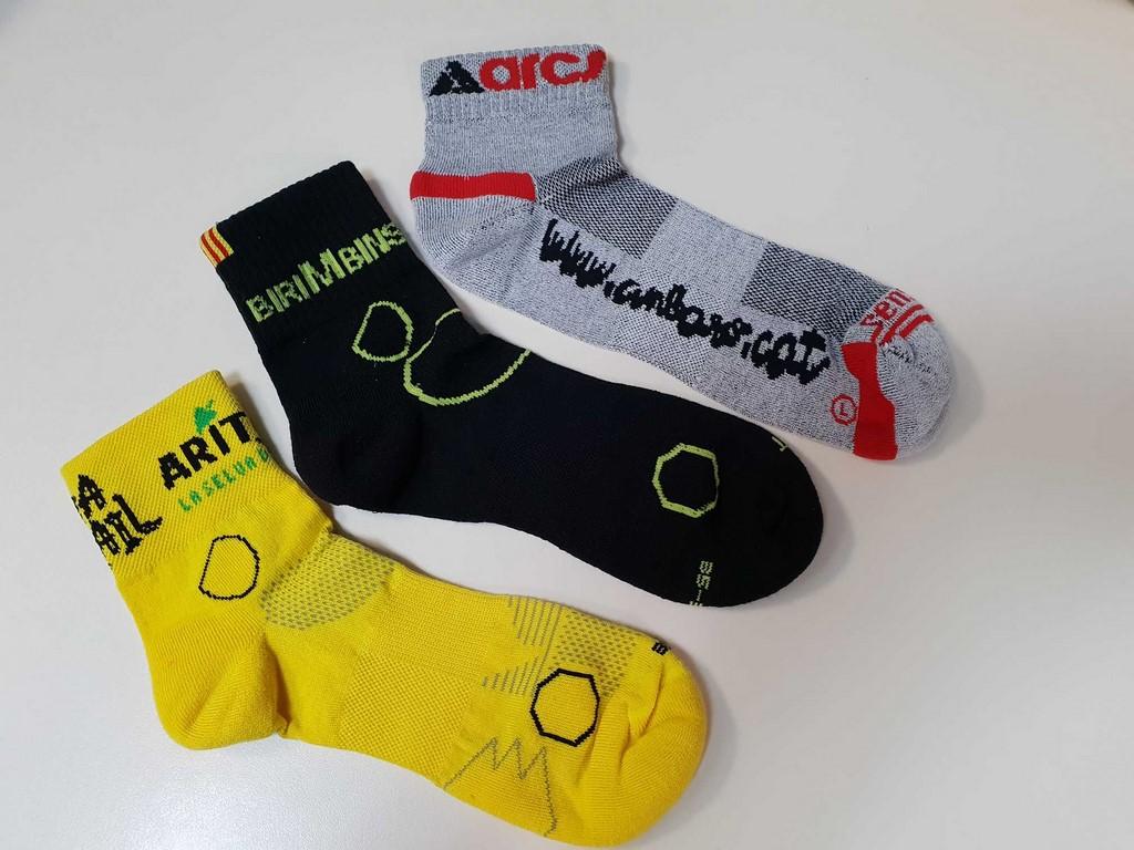 Fabrication de chaussettes de sports personnalisées